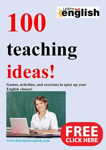 Teachers freebie