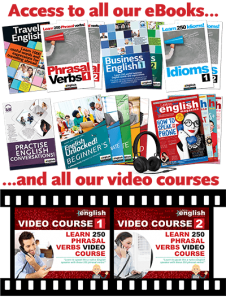 Mags, books and video course covers