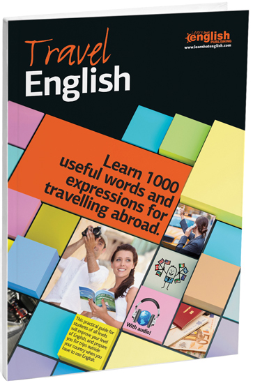 Travel English Book cover