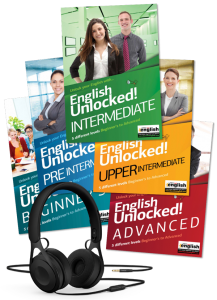 English UNlocked Books collection with audios