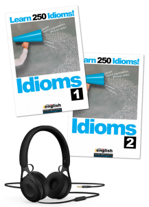 Learn English idioms eBooks 1 & 2 with audio