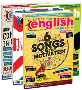 Hot English magazine front covers music