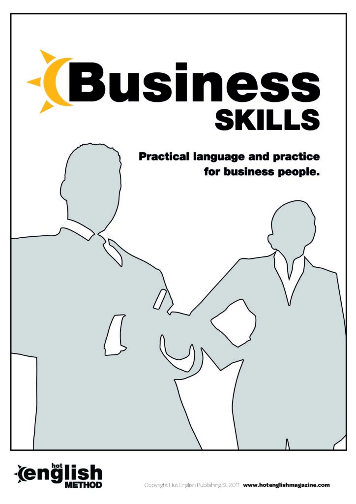 front cover business skills