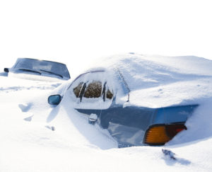 English weather idioms - car in snow