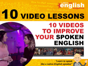 10 videos to improve your spoken english