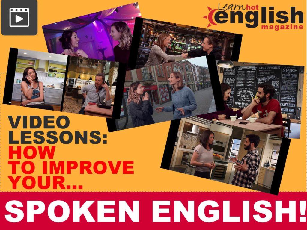 learn hot English improve spoken English