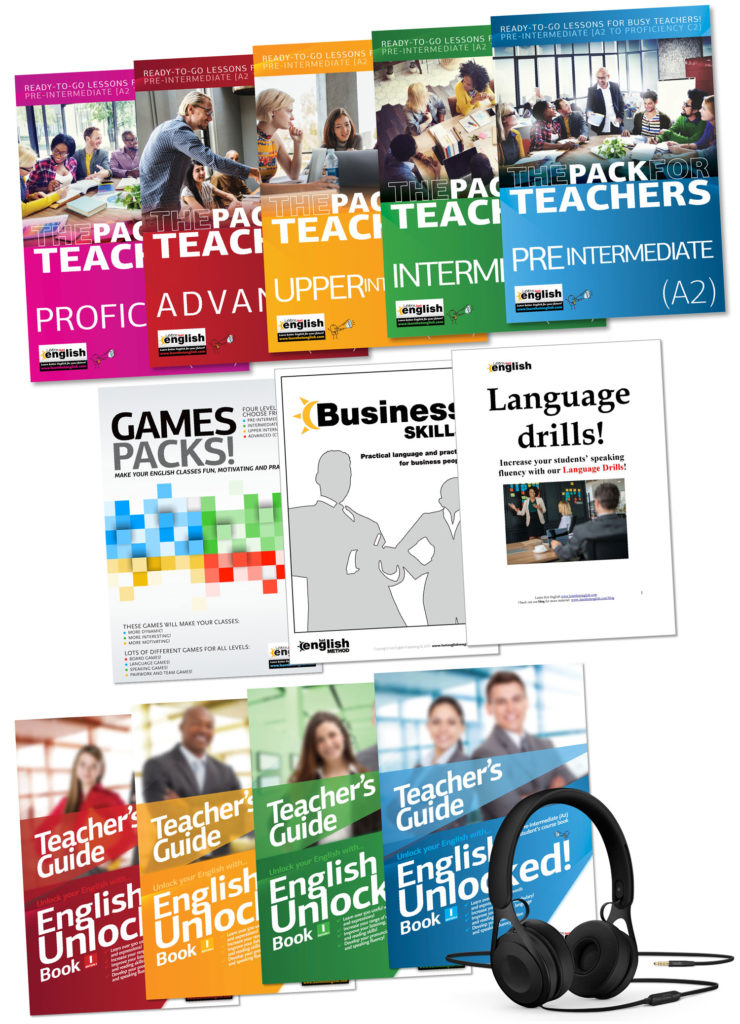 Learn Hot English teacher products